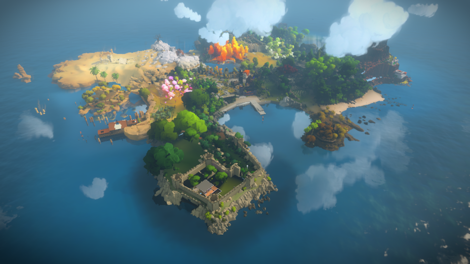 The Witness map
